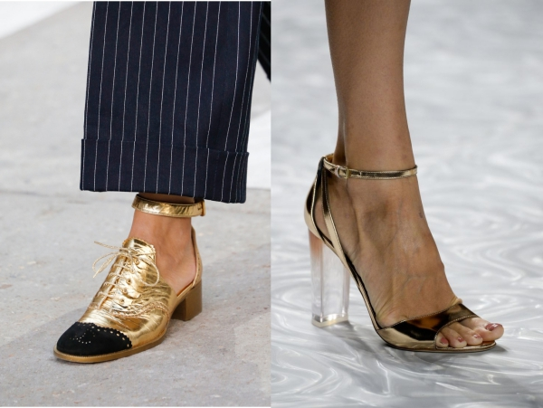2015_yaz_ayakkabı_modelleri_metalik_sarı_ayakkabılar