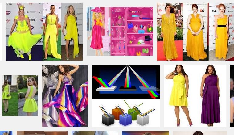 Renkli kıyafetleri tercih edin