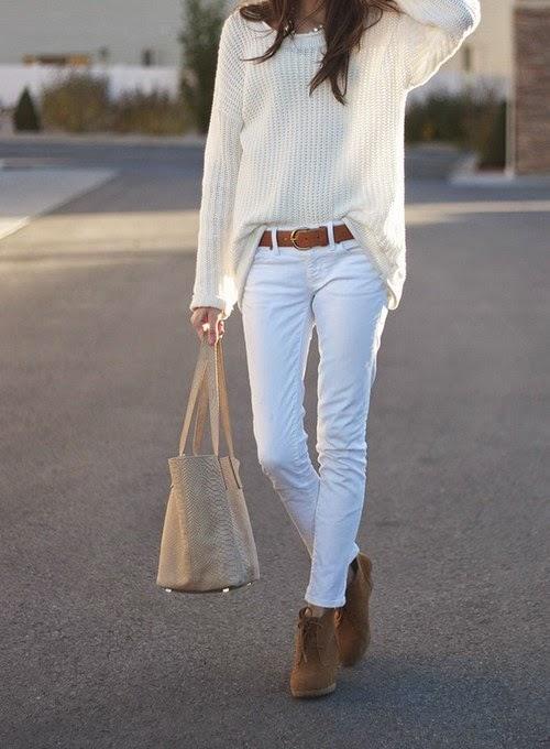 Beyaz Kot Giyme Rehberi