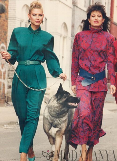 Sokak Modasında Bugün: 80'ler