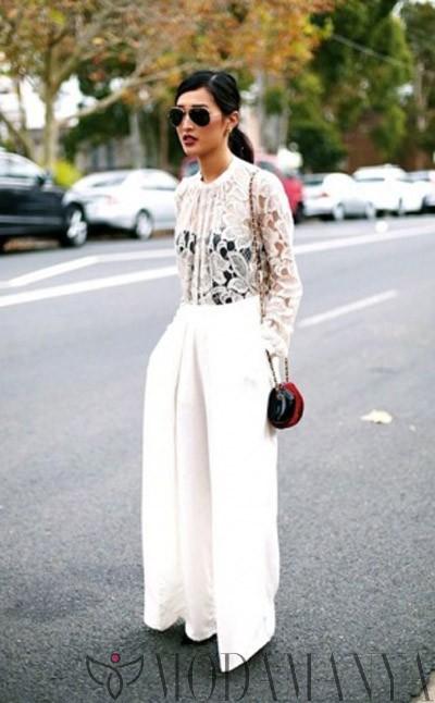Yaz Modası: Bol Paça Pantolonlar