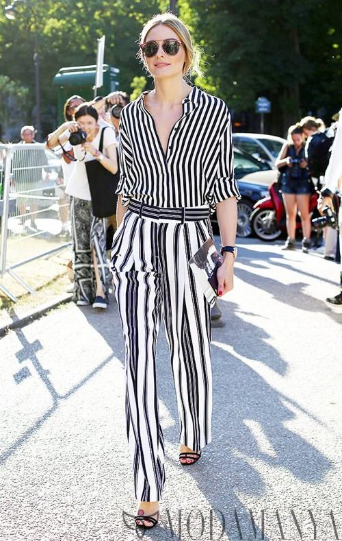 Bu Sene Çok Moda: Çizgili Pantolonlar