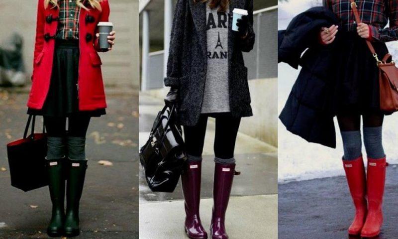 Sonbaharda Çok Moda: Yağmur Çizmesi