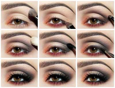 günlük göz makyajı