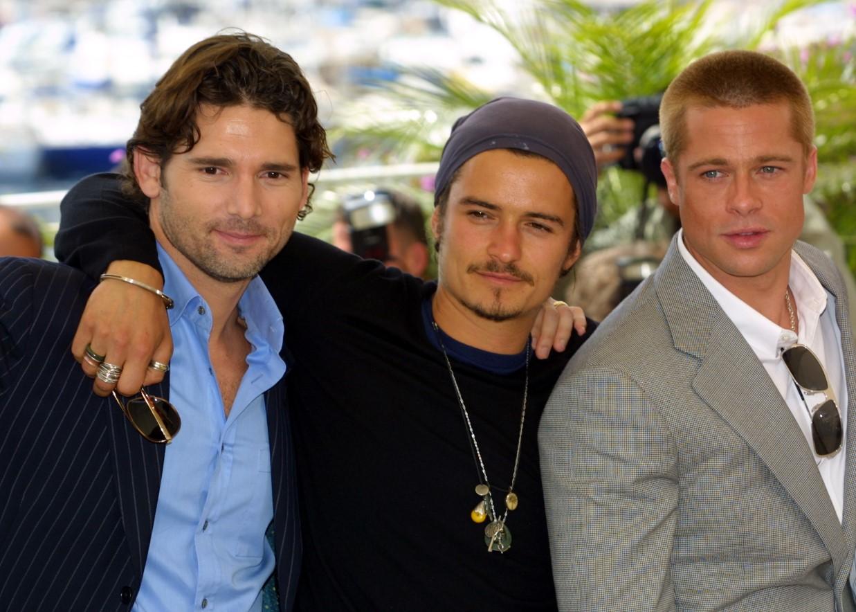 Brad Pitt, Orlando Bloom